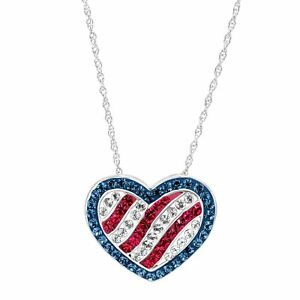 Crystaluxe-American-Flag-Pendant-With-Swarovski-Crystals-in-Sterling-Silver