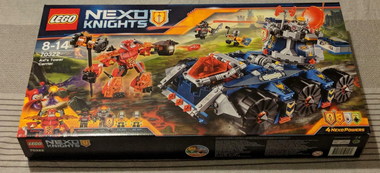 Lego 70322 Nexo Knights - Axls mobiler Grüneidigungsturm