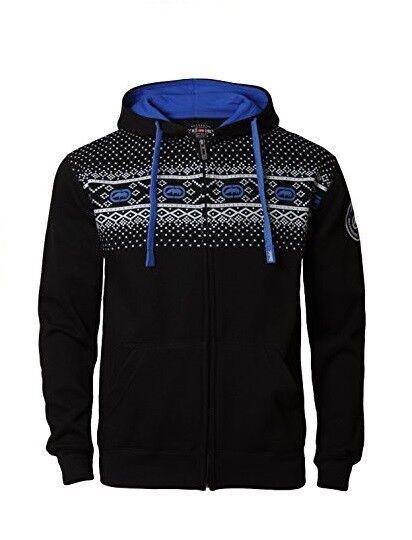 Ecko Unltd  Veste Sweat à Noir à Sweat capuche Bleu zippée Mixte 64a4e5