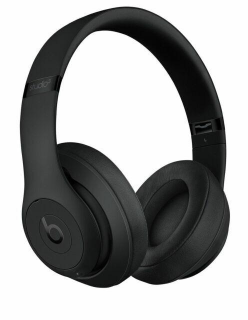 Beats By Dr Dre Mq562pa Studio3 Over The Head Wireless Headphones Matte Black For Sale Online Ebay
