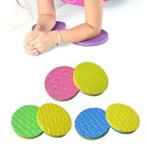 Yoga-Knee-Elbow-Pad-Training-Foam-Disk-Cushion-Exercise-Body-Building-Mat-HZ
