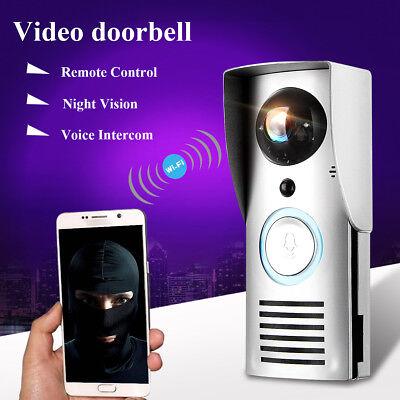 Wifi Wireless Nachtsicht Video Türklingel Bewegungs Abfragung Sichtbarer Monitor