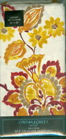 Cynthia Rowley York Set Of 4 Tahiti Table Napkins 100% Cotton 20 X 20
