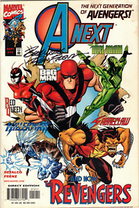 A-Next-Vol-1-12-Signed-by-Ron-Frenz-Marvel-Comics-1999-FN-VF