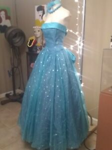 Vintage 1960's Teal DRESS~PROM PARTY