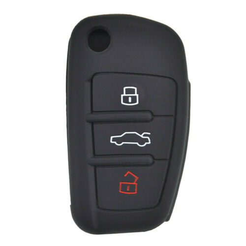 Silicone Key Fob Case Cover Remote Fob For Audi A1 S1 A3 S3 A4 A6 RS6 TT Q3 Q7