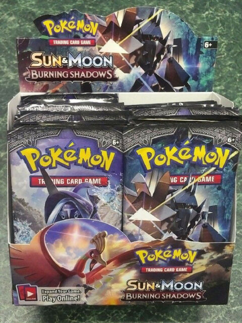 Pokemon Sun & Moon Burning Shadows Booster Pack from Canada