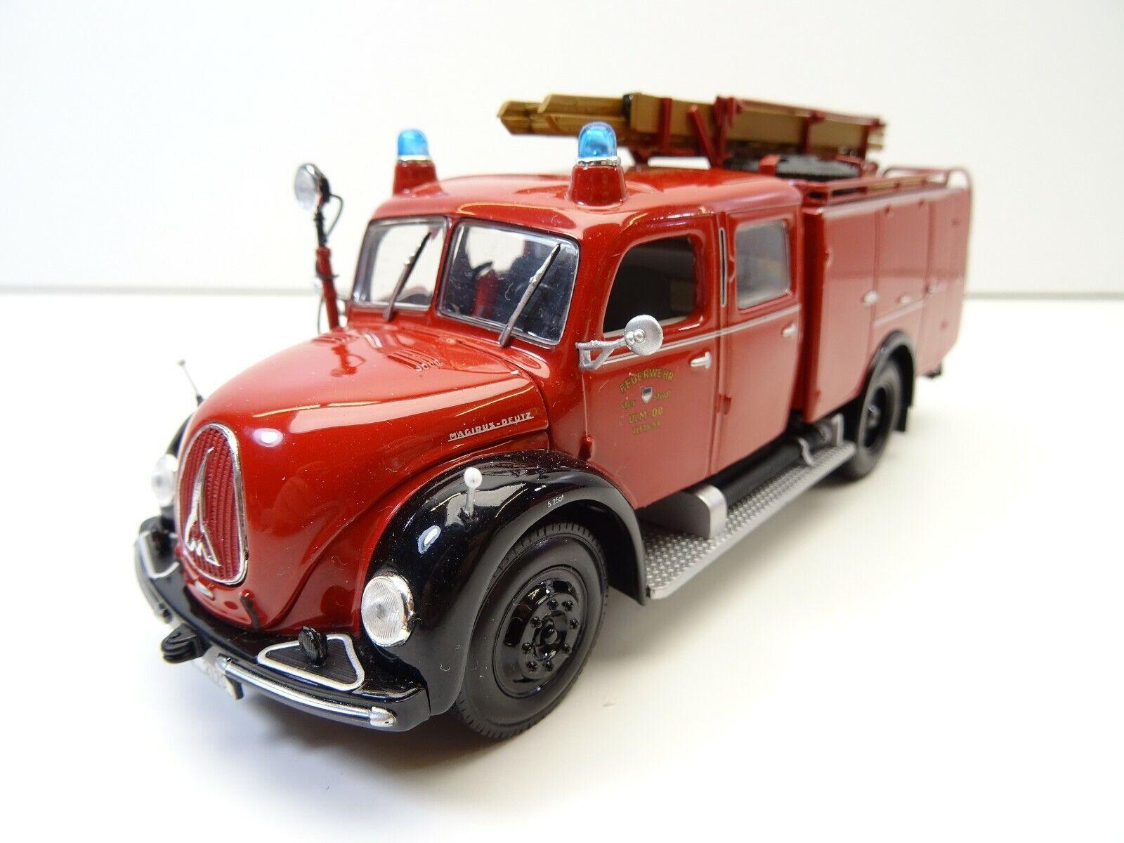 1 43 Minichamps 439141070 MAGIRUS DEUTZ TLF 1959 vigili del fuoco città Ulm c4048