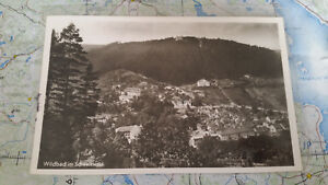 Sammeln & Seltenes Wildbad Im Schwarzwald Ansichtskarte Postkarte 5320 Eine Hohe Bewunderung Gewinnen