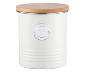 11 X 11 X 13.5 cm BNWT Acero Tifón bote de café de 1 L LIVING-CREMA
