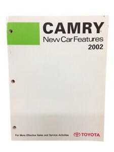 Toyota Nuevo Entrenamiento Manual Coche Características 2002 Libro Camry Modelos