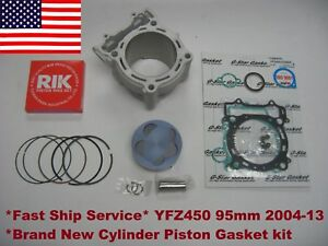 Yamaha-YFZ450-450-Stock-Bore-95mm-Cylinder-Piston-Gasket-kit-11-4-1-Fit-2004-13