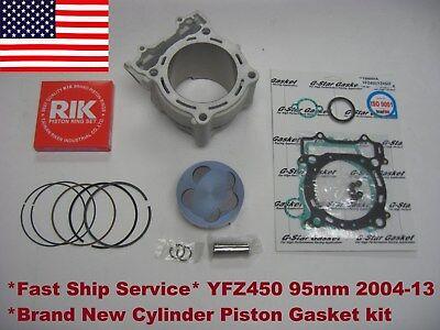 New Yamaha YFZ450  Piston kit Fit All Year YFZ 450 Carb STD 95mm 11.4:1