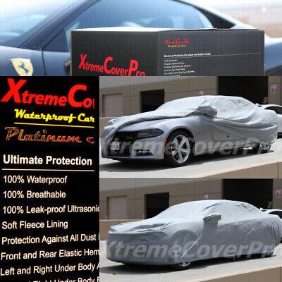 Black 2015 DODGE GRAND CARAVAN Breathable Car Cover w//Mirror Pockets