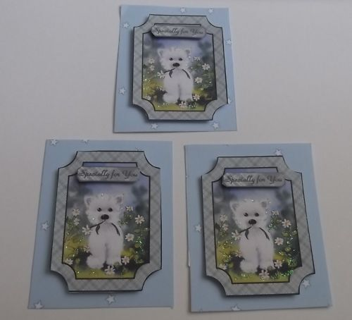 PK 3 SPECIALLY FOR YOU EMBELLISHMENT TOPPERS FOR CARDS