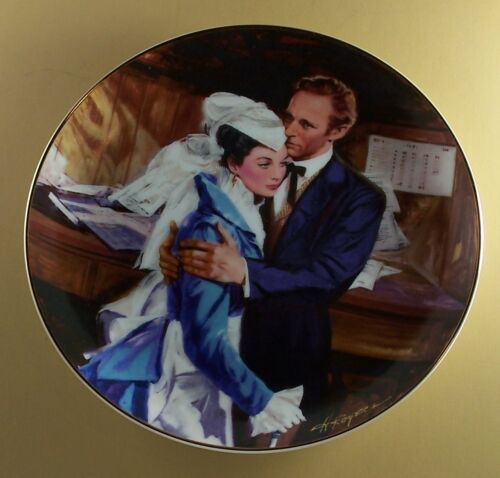 Gone With The WInd A QUESTION OF HONOR Plate Golden Anniversary Series Seventh 7