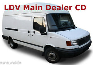 ldv convoy workshop service manuals amp wiring diagrams on cd image is loading ldv convoy workshop service manuals amp wiring diagrams