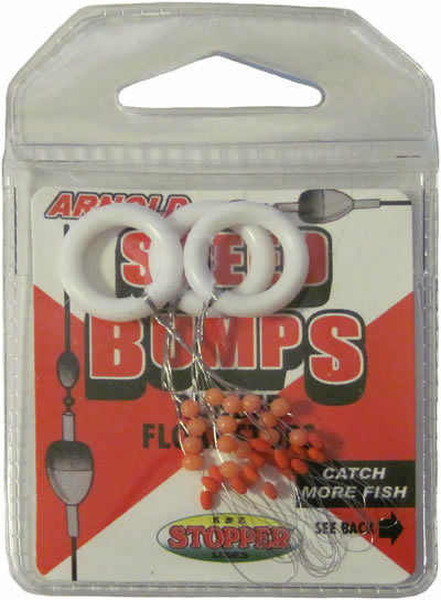 Speed Bumps Bobber Stops Size M SIX Packs of 15 Stops Arnold  #SB-55-M
