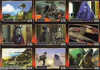 NM IKON Australia 1997 Star Wars Episode 1 Complete 60 Card Set