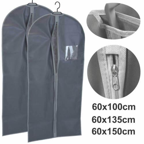 Reise Kleidersack Kleider-Schutzhülle Kleiderhülle Kleideraufbewahrung Vlies Set