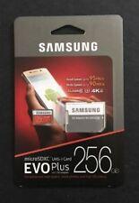 SamsungEVO plus888⁸256 GB@@⁸Micro SD SDXC Class 10 80MB/s Memory Card UHS-I