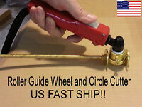 Pt-31 Plasma Torch Roller Guide Wheel + Circle Cutter - Fast Us Ship