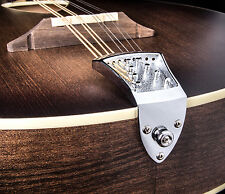 NEW CHROME ASHTON BAILEY HIGH MASS CAST MANDOLIN TAILPIECE - FITS A AND F STYLE