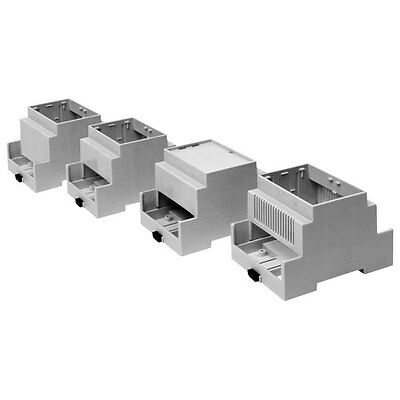 DIN Rail Vented Module Components Enclosure M3 CNMB/3/2 Case Enclosure
