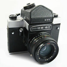 KIEV 60 TTL Russian MF Pentacon Copy Camera KIT MC VOLNA-3 Lens EXC