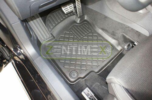 Design-3D-TPE-Gummifußmatten für VW Volkswagen Scirocco MATCH 3 Coupé Coupe Sc40