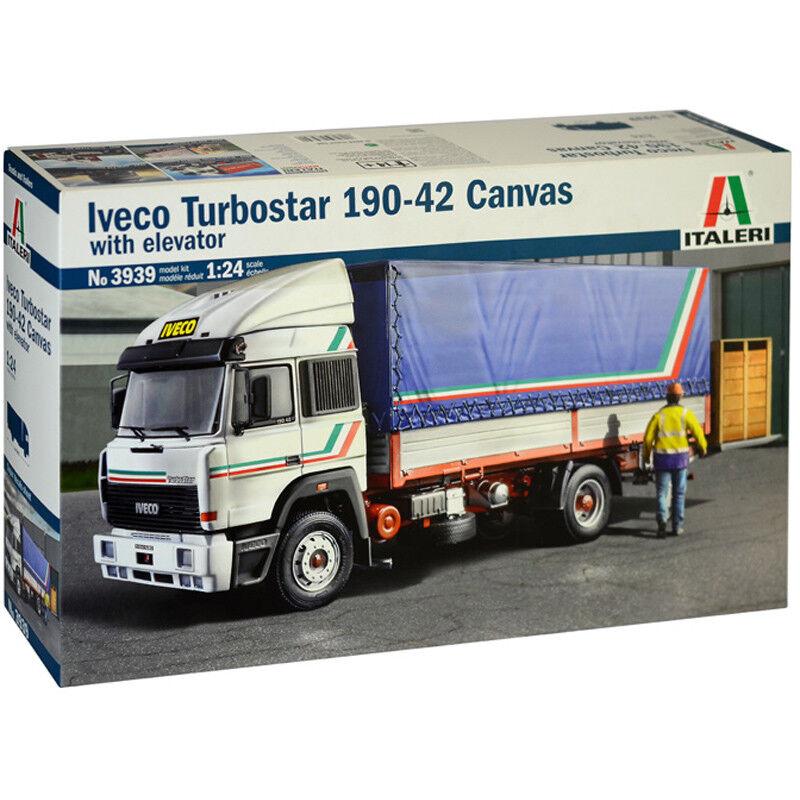 Italeri Iveco Turbostar 190-42 Canvas Model Kit (Scale 1 24) - 3939 - NEW