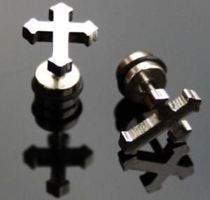 1 Paar Cool Ohrstecker, Motiv: Kreuz, Ywhy152 Weitere Rabatte üBerraschungen