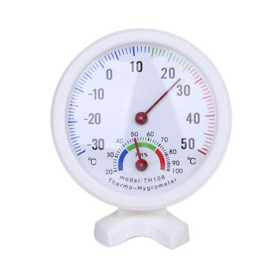 Mini Bell-shaped Scale Thermometer and Hygrometer Temperature Humidity Meter