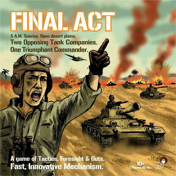 Final Act, Boardgame, Nuovo by Tyto Games, English Edition