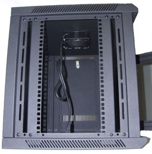"24/"" Deep 6U IT Wall Mount Network Server Data Cabinet Rack Locking Lock /& Key"