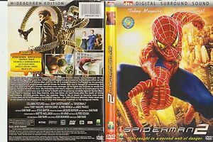 Spiderman-2-Columbia-Pictures-Sony-Entertainment-Issue-Rare-Dvd-in-NTSC-Format