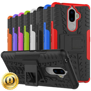 sports shoes a57ba 71a10 Details about For Lenovo K8 Note Case Slim Armor Dual Layer Hybrid  Kickstand Protective Cover