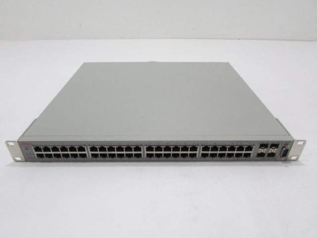 Avaya 5520 48T PWR Ethernet Routing Switch With 48 10 100 1000