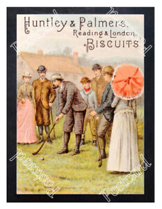 Historic-Huntley-amp-Palmer-039-s-Biscuits-1890s-Advertising-Postcard-4
