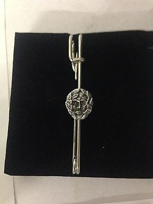 """Green Man R141 Pewter Emblem Kilt Pin Scarf Or Brooch 3"""" 7.5 Cm Fashion Jewelry"""