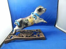 """Cast Iron When Pigs Fly Toy Hand Painted 7""""h x 10""""l x 4 3/8""""w"""
