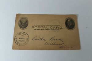Antique-Vintage-Letter-To-A-Friend-Postcard-1908-Willmar-MN-Collectible-Card