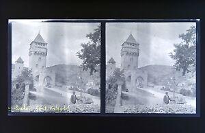 Cahors-Pont-Valentre-Foto-Stereo-Negativo-Su-Film-Morbido-1914