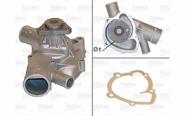 VALEO Pompe à eau pour PORSCHE 924 506186 - Pièces Auto Mister Auto