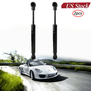 2Pcs Trunk Lip Gas Charged Lift Supports Shock Struts Prop Arm Rod Damper for Porsche Boxster 1997-2004