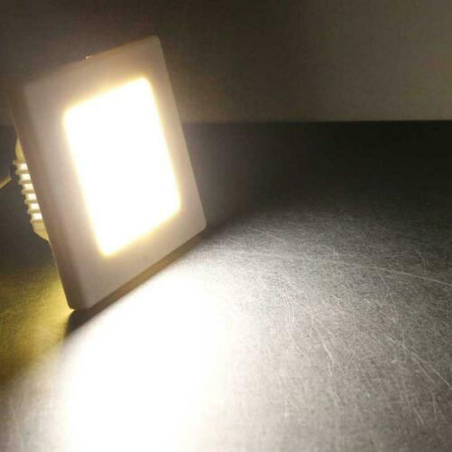 Step Light Stair Light for Flush-Mounted Box LED Wall Recessed Light 230V White//Silver