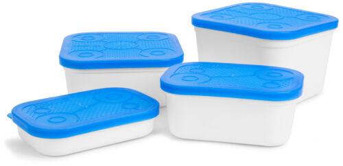 PRESTON INNOVATIONS WHITE BAIT TUB CARP FISHING STORAGE BOX 0.60L 1.80L
