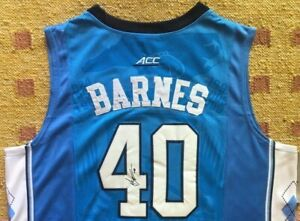 official photos f0446 36c6e Details about Harrison Barnes Signed Autograph UNC Tar Heels Jersey NCAA  NBA USA
