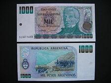 ARGENTINA  1000 Pesos Argentinos 1983-85  (P317b)  UNC
