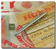 HONDA CL160 S90 CM91 CL90 S65 P50 CA110 CA105T CA102 HEADLIGHT ADJ SCREW & NUT